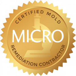 MICRO Certified Mold Rmediation Contractor