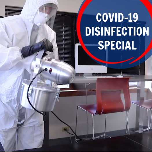 Covid-19 Cleaning Specials